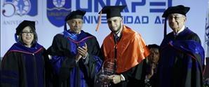 UNAPEC gradúa 231 nuevos profesionales en el Cibao; empresaria fue oradora invitada