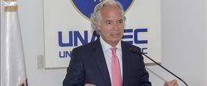 Árbitro internacional imparte en UNAPEC seminario Eficacia Extraterritorial de Actos  de Autoridades Extranjeras