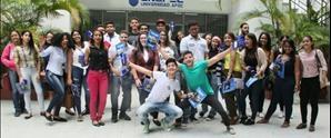 Estudiantes de nuevo ingreso del cuatrimestre mayo-agosto son recibidos por el Rector y autoridades académicas de UNAPEC