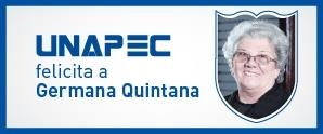 Felicitaciones a Germana Quintana por su nominación a Premios Soberano 2016