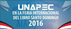 UNAPEC en la Feria Internacional del Libro Santo Domingo 2016
