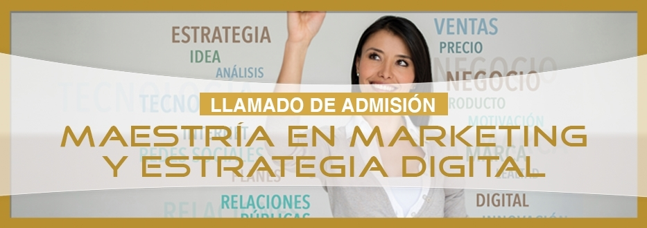 Maestria en Marketing y Estrategia Digital