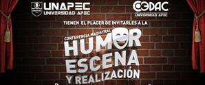 Conferencia Magistral Humor Escena y Realización por Luis Orlando García Domínguez