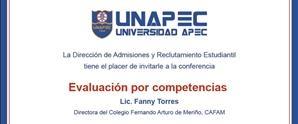 Conferencia Evaluación por Competencias