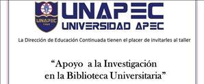 Taller Apoyo a la Investigación en la Biblioteca Universitaria