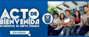 Acto de Bienvenida Estudiantes de Nuevo Ingreso