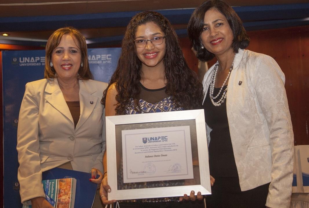 Indiana Ureña Genao, Licenciatura en Negocios Internacionales.