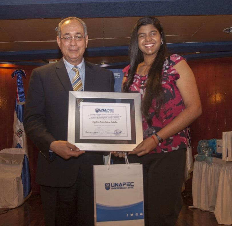 Angélica M. Rubiera Ceballos,  Licenciatura en Administración Turística y Hotelera.