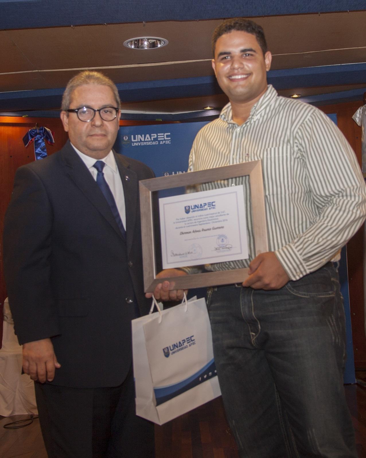 Sherman Rosario Guerrero, Ingeniería Electrónica.