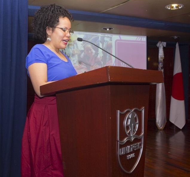 Dra. Yussaira Castillo, primera mujer dominicana con estudio de PHD en Veterinaria graduada en Japón.