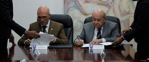 UNAPEC y V-Energy firman acuerdo de cooperación mutua
