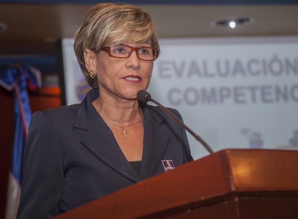 Lic. Fanny Torres, directora del Colegio APEC Fernando Arturo Meriño (CAFAM).