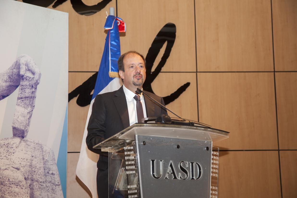 Embajador de Francia en República Dominicana, José Gómez.