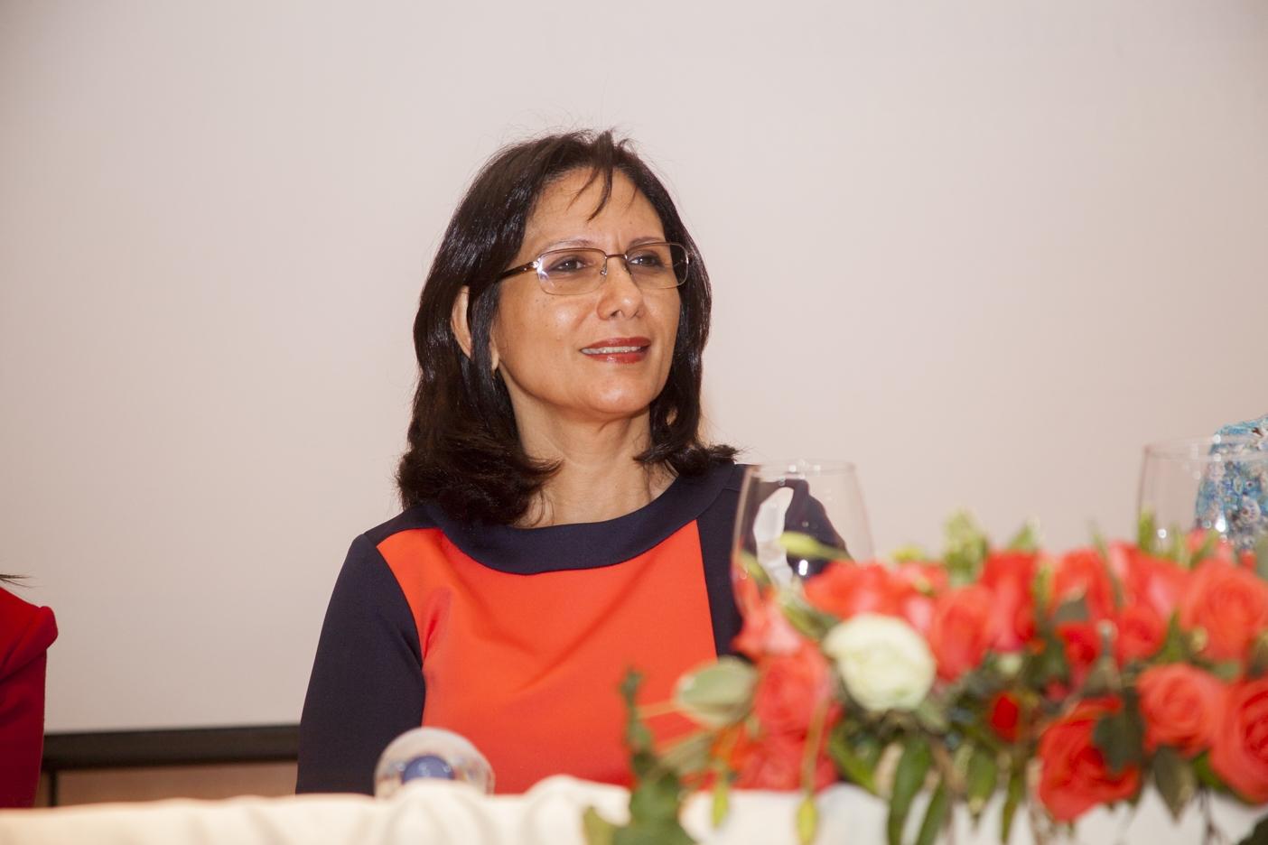 Dra. Luz Inmaculada Madera, Vicerrectora de Investigación, Innovación y Relaciones Internacionales de UNAPEC.
