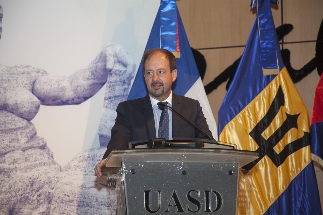 José Gomez, Embajador de Francia en RD.
