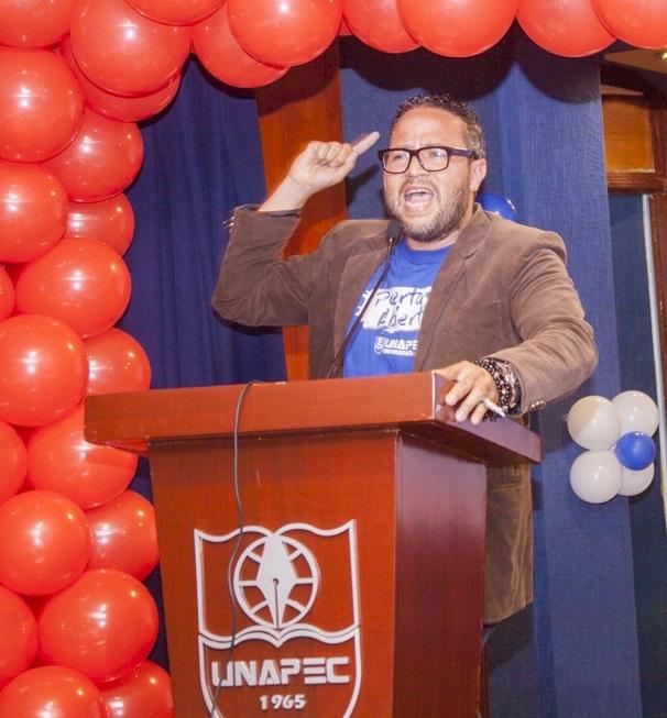 Nuestro Maestro de Ceremonia, José Manuel Rodríguez.