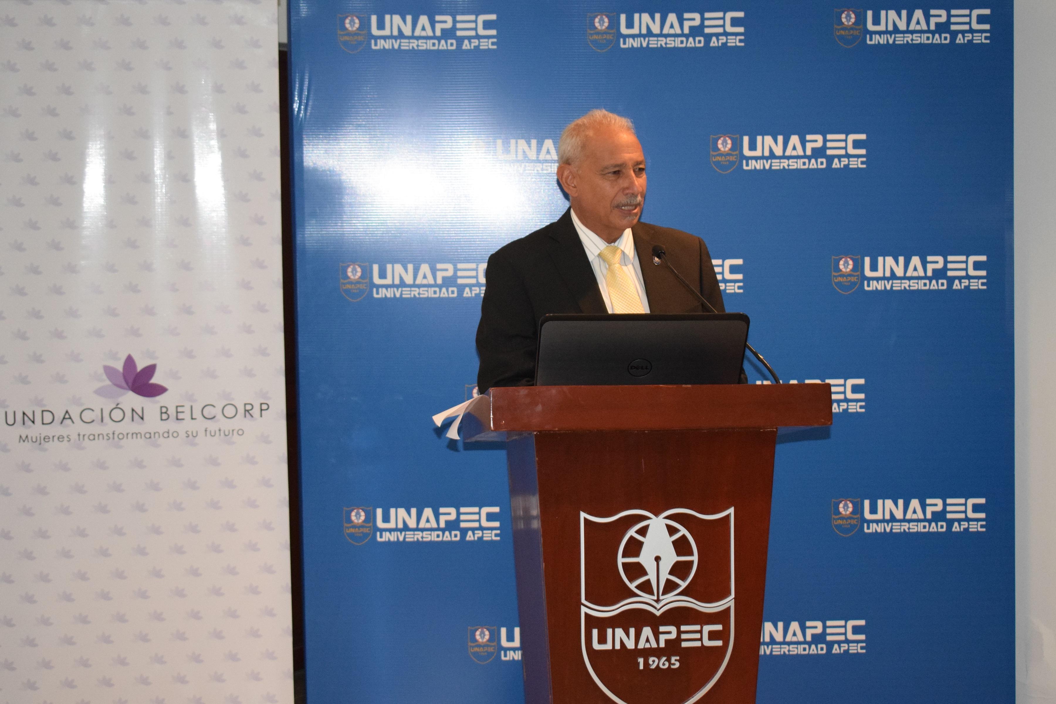 Lic. Francisco D Oleo, Vicerrector Académica de UNAPEC.