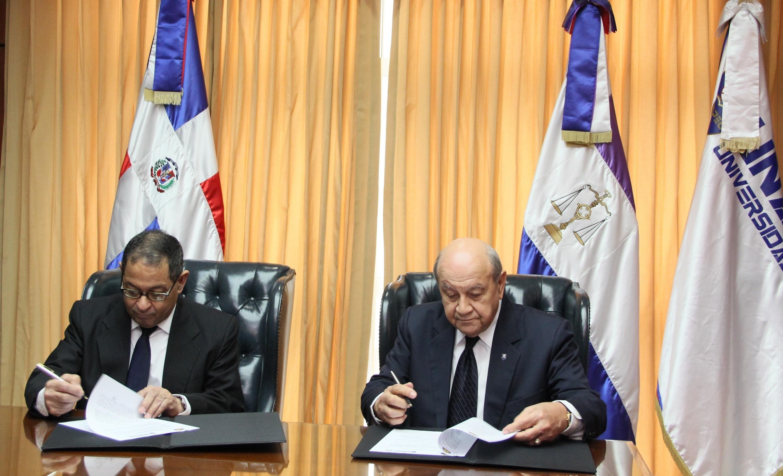 Universidad APEC y Poder Judicial firman acuerdo busca fortalecer formación de estudiantes de Derecho