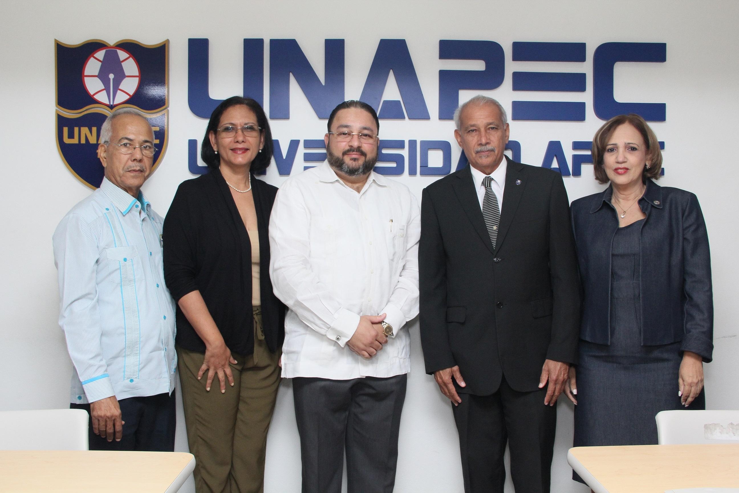 UNAPEC realiza Conversatorio Desarrollo de la investigación, línea de cooperación y vinculación