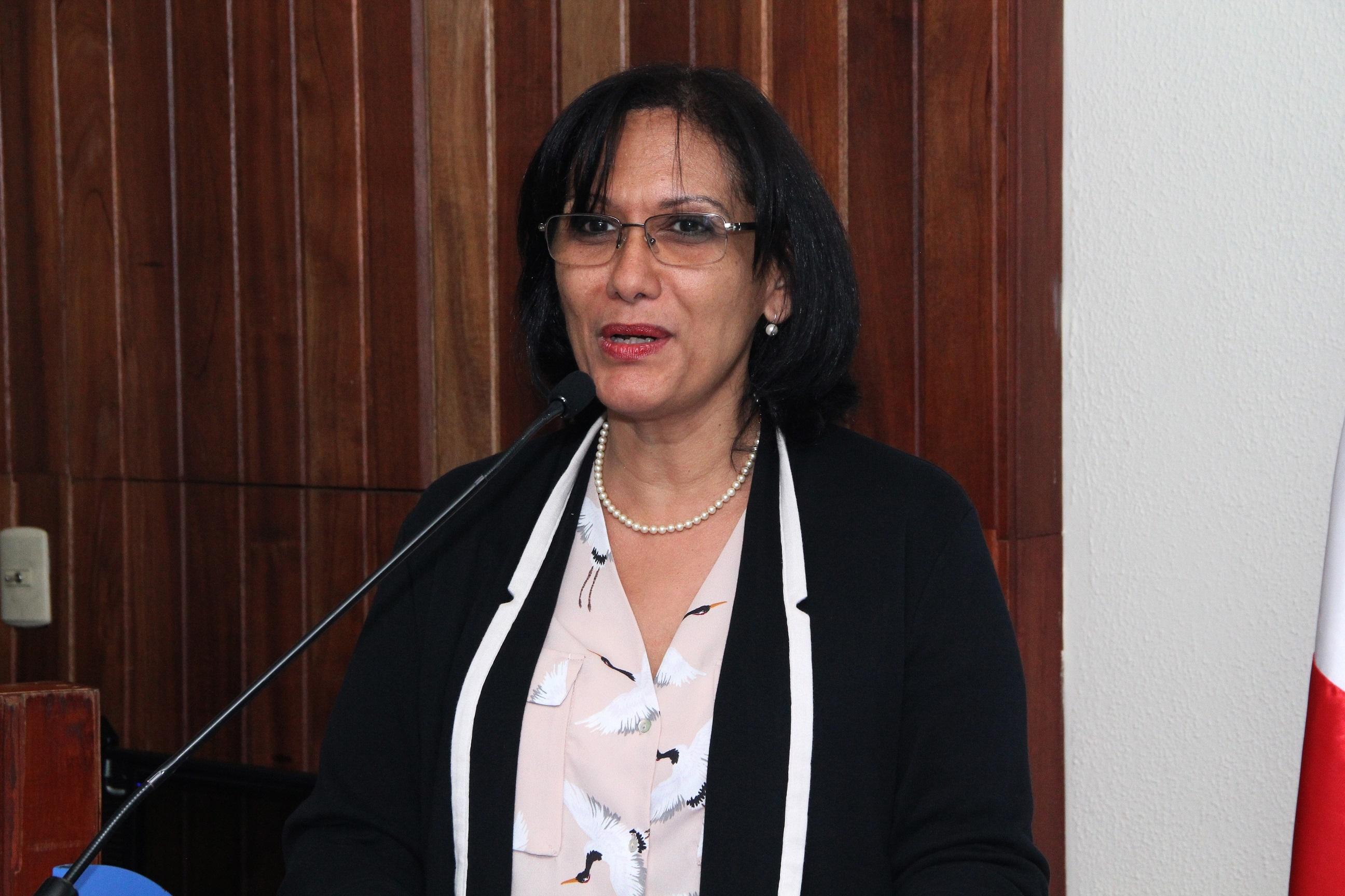 Dra. Luz Inmaculada Madera, vicerrectora de Internacionalización y Vinculación Nacional de UNAPEC