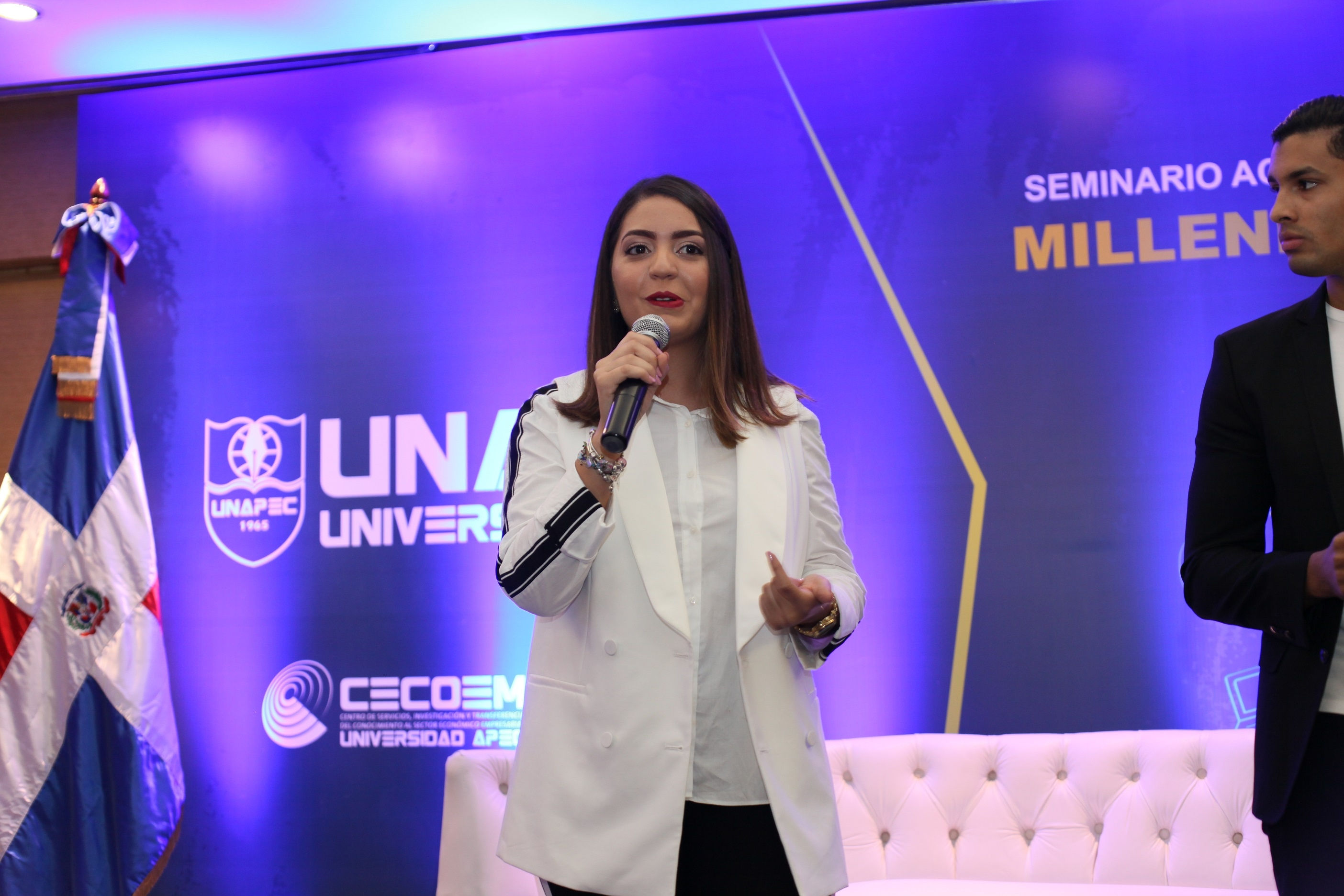 Nicole Dominici, co-fundador de Refill Dominicana y Tanibol TV.