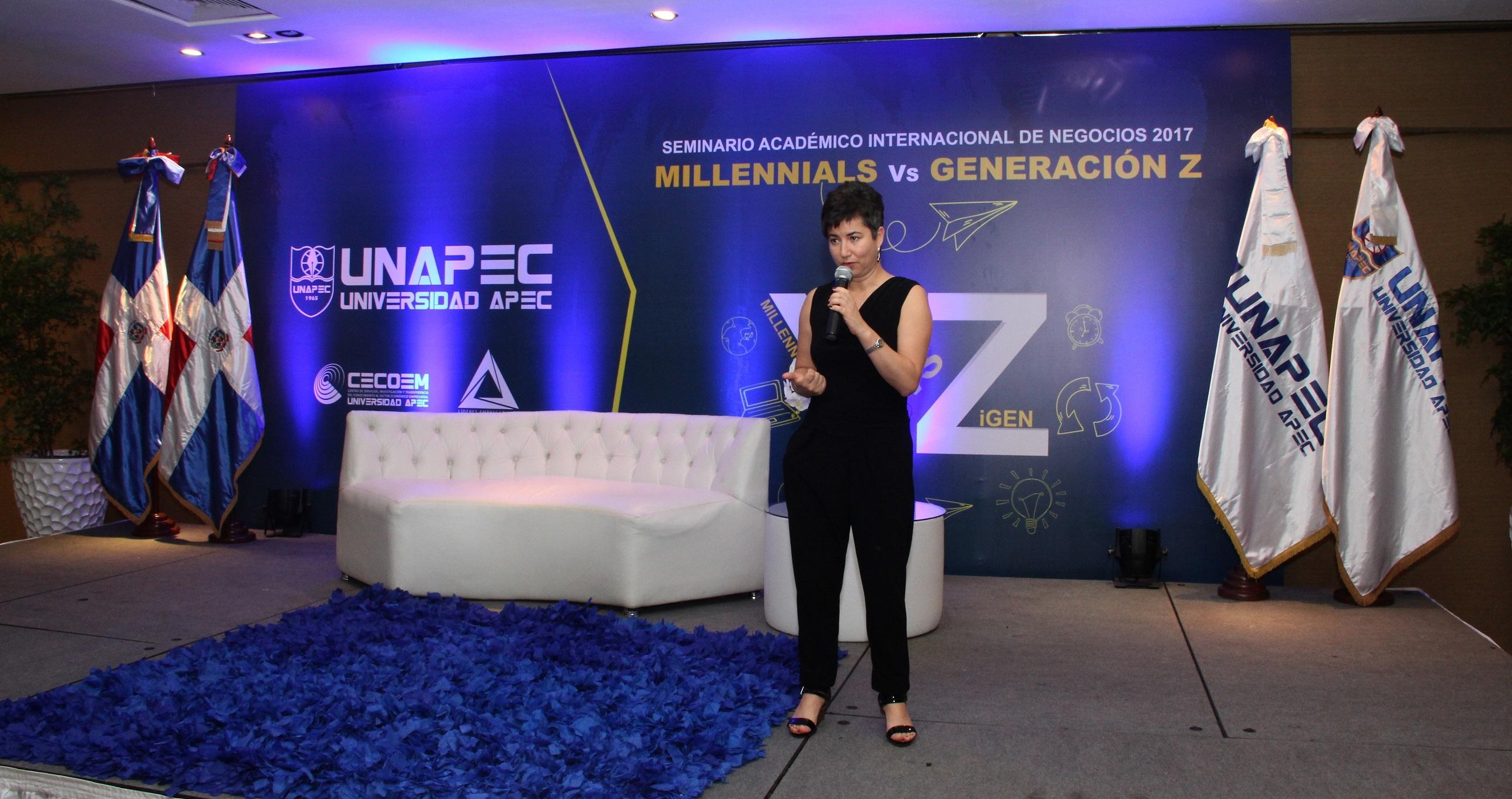 Ana Sarmiento, gurú internacional.