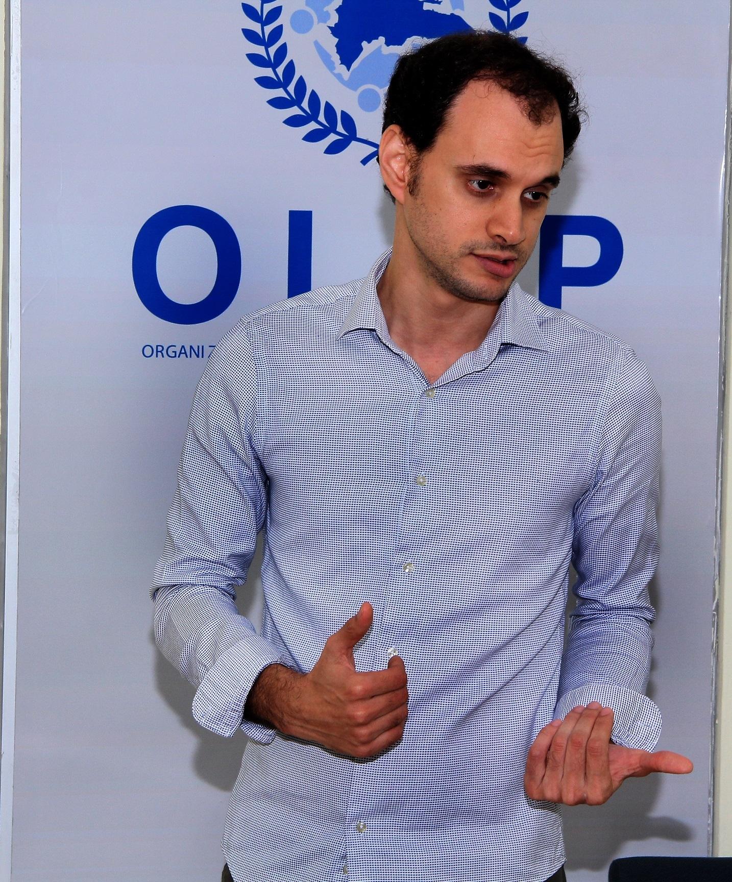 Emil Rodríguez, egresado de Ingeniería Electrónica.